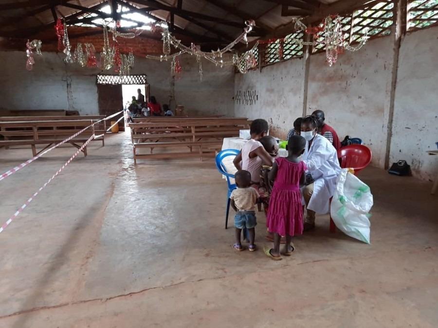 RDC, rougeole, MSF