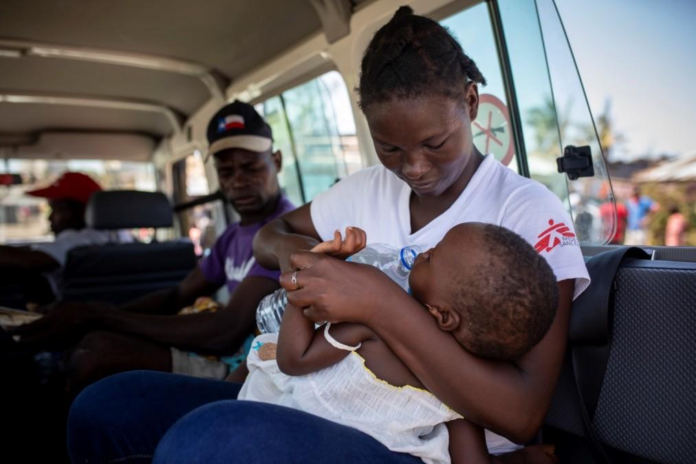 Cyclone Idai. Mozambique. Mobile clinics.