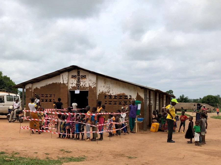 rougeole, RDC, MSF