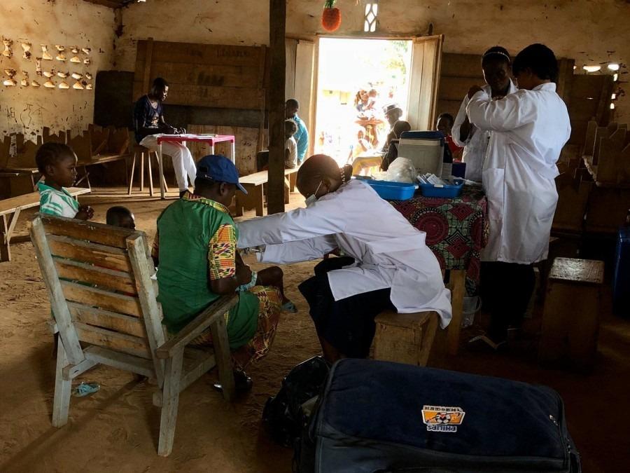 rougeole, MSF, RDC