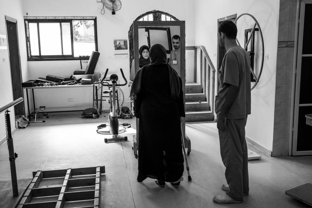 Gaza, blessure traumatique, MSF