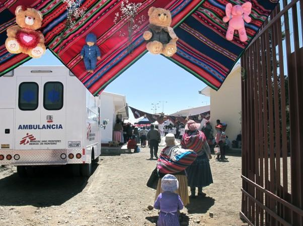 MSF, Bolivia, Yuri Fukushima, El Alto
