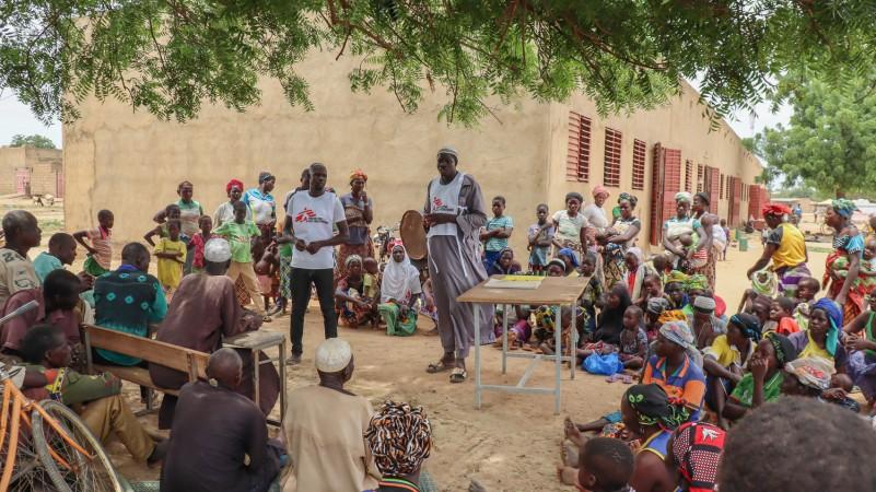Burkina Faso, MSF