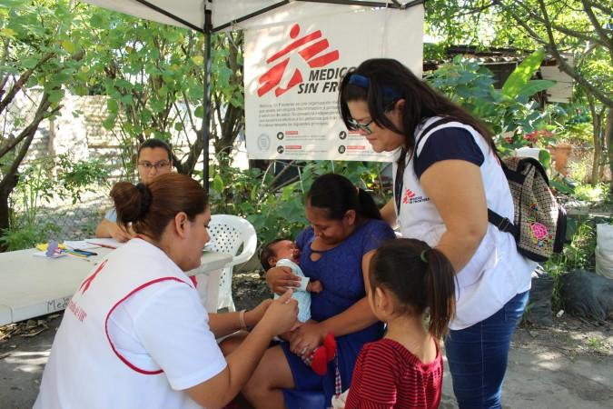 El Salvador, MSF