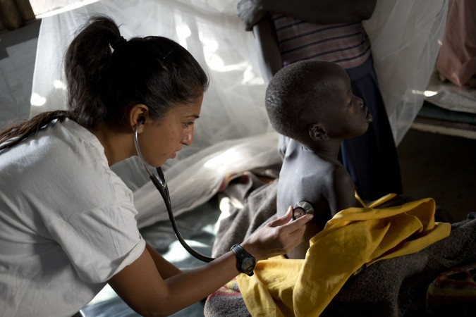 Lankien, South Sudan, 13 January 2015.