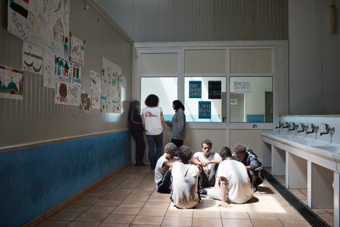 MSF Refugees Italy