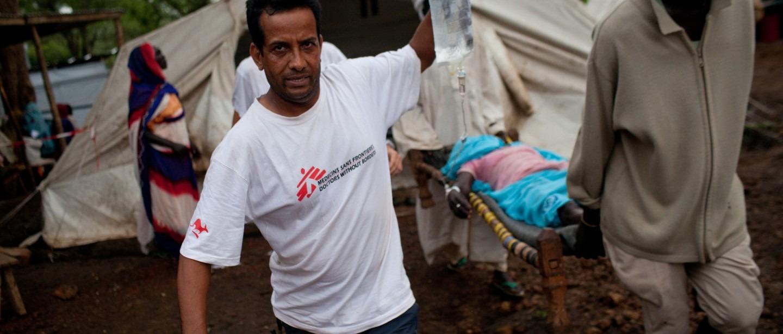 Soudan du Sud. 50 ans MSF. Humanitaire.